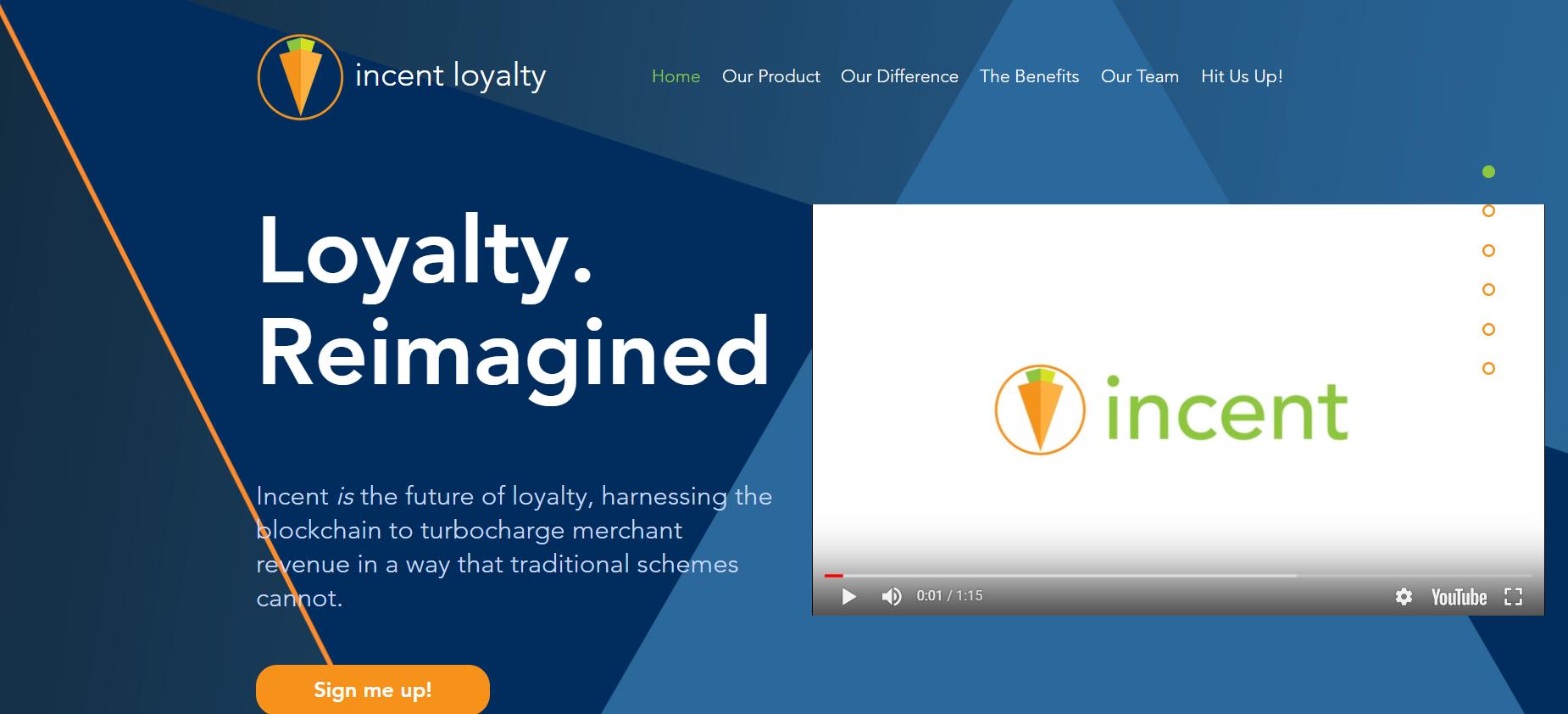 Incent Loyalty Program