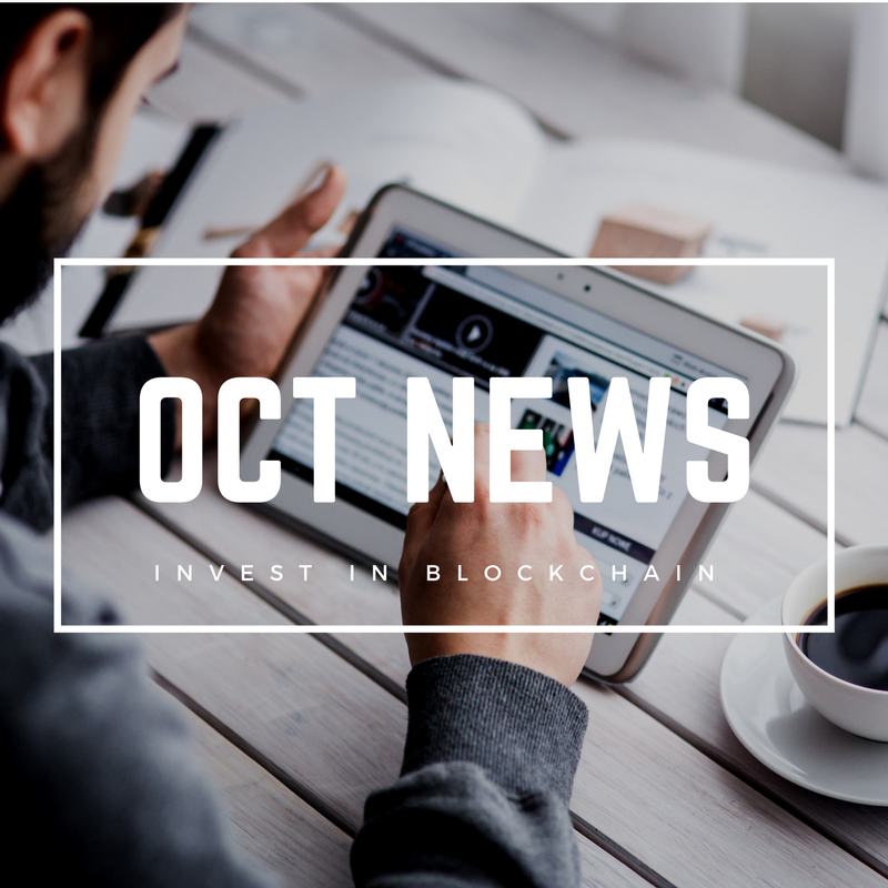 October Cryptocurrency News Roudup