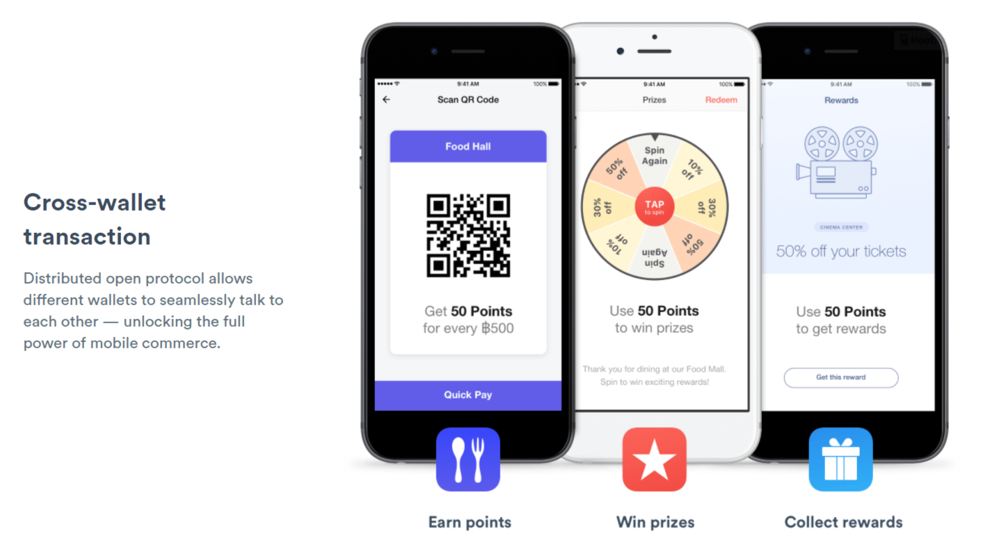 OmiseGo blockchain wallet features