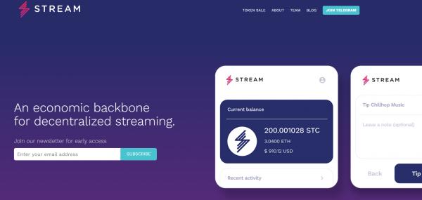 Stream Token