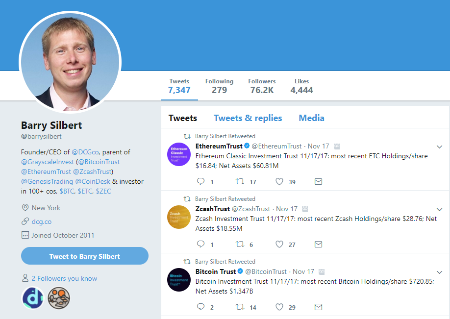 Barry Silbert Twitter
