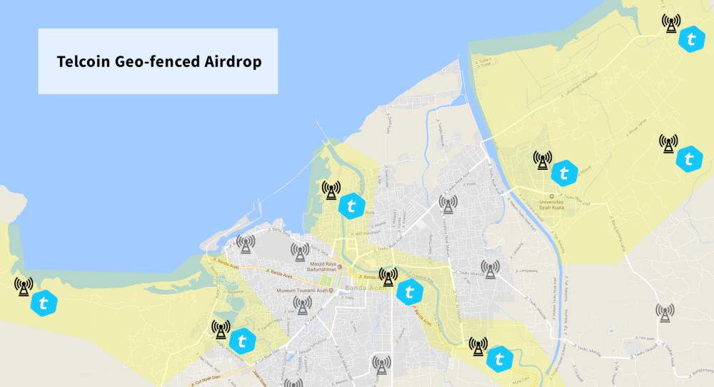 Telcoin airdrop natural disaster