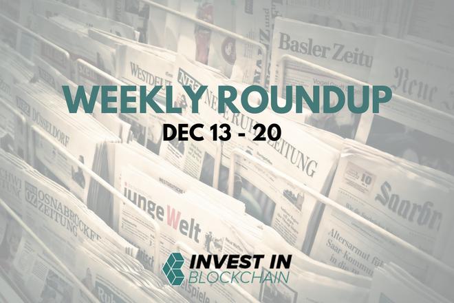 Week in Review: December 13 - 20