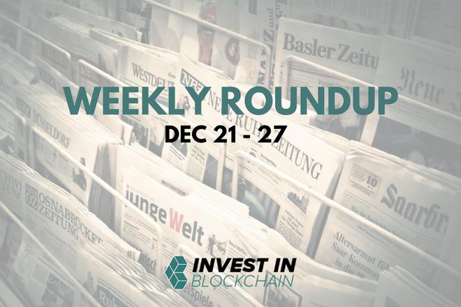 Week in Review: December 21 to 27