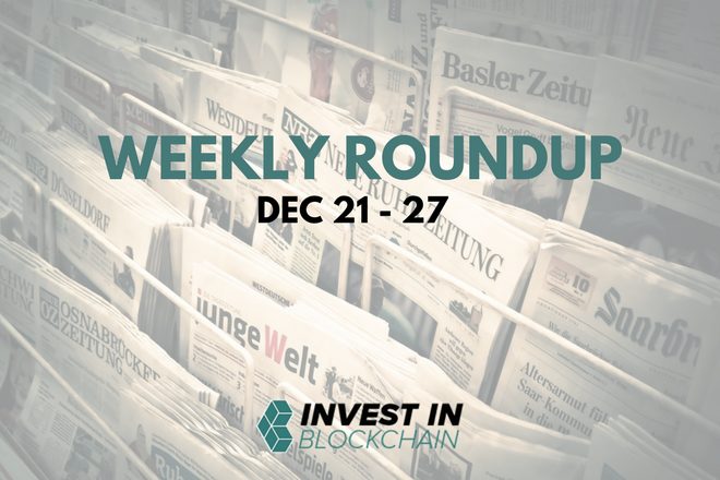 Week in Review: December 21 to 27