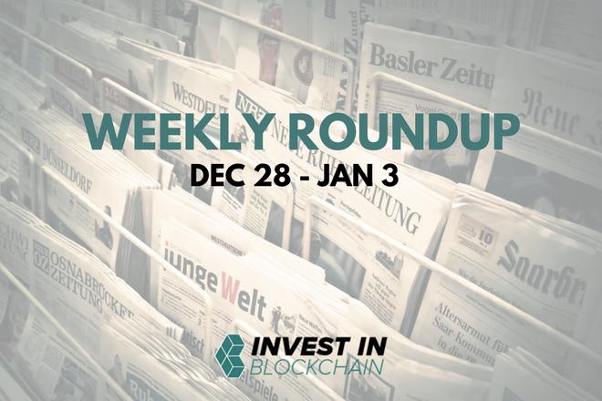 Week in Review: Dec 28 - Jan 3