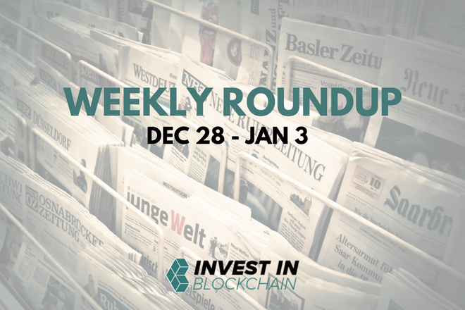 Week in Review: Dec 28 - Jan 3