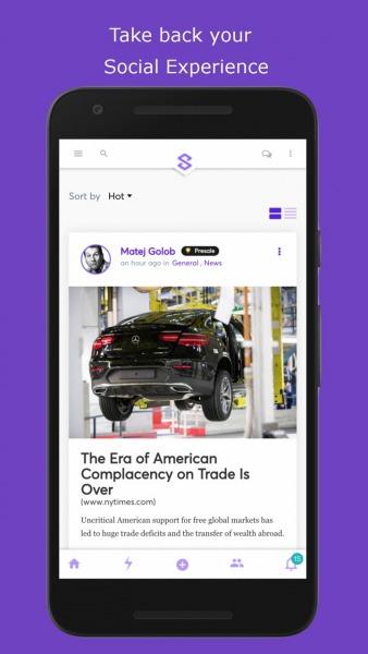 Sapien Network mobile app