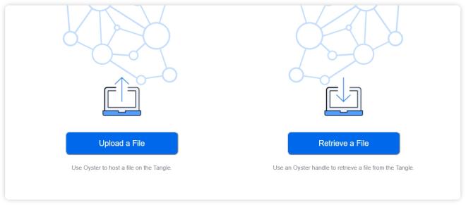 Oyster Decentralized File Storage