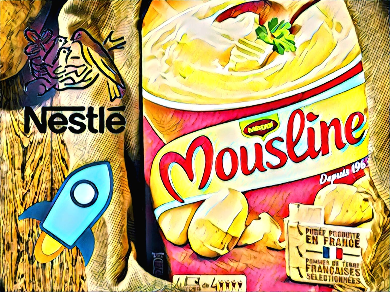 Mousline Nestle Carrefour IBM Stellar