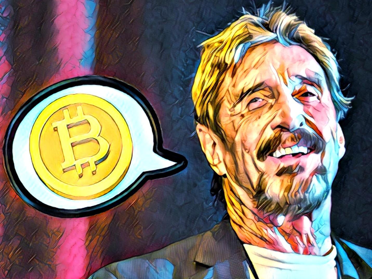 I Do Know Who Satoshi Is, Says McAfee - Crypto News AU