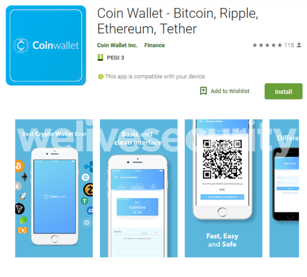 2 Fake Cryptocurrency Apps At Google Store You Should Watch