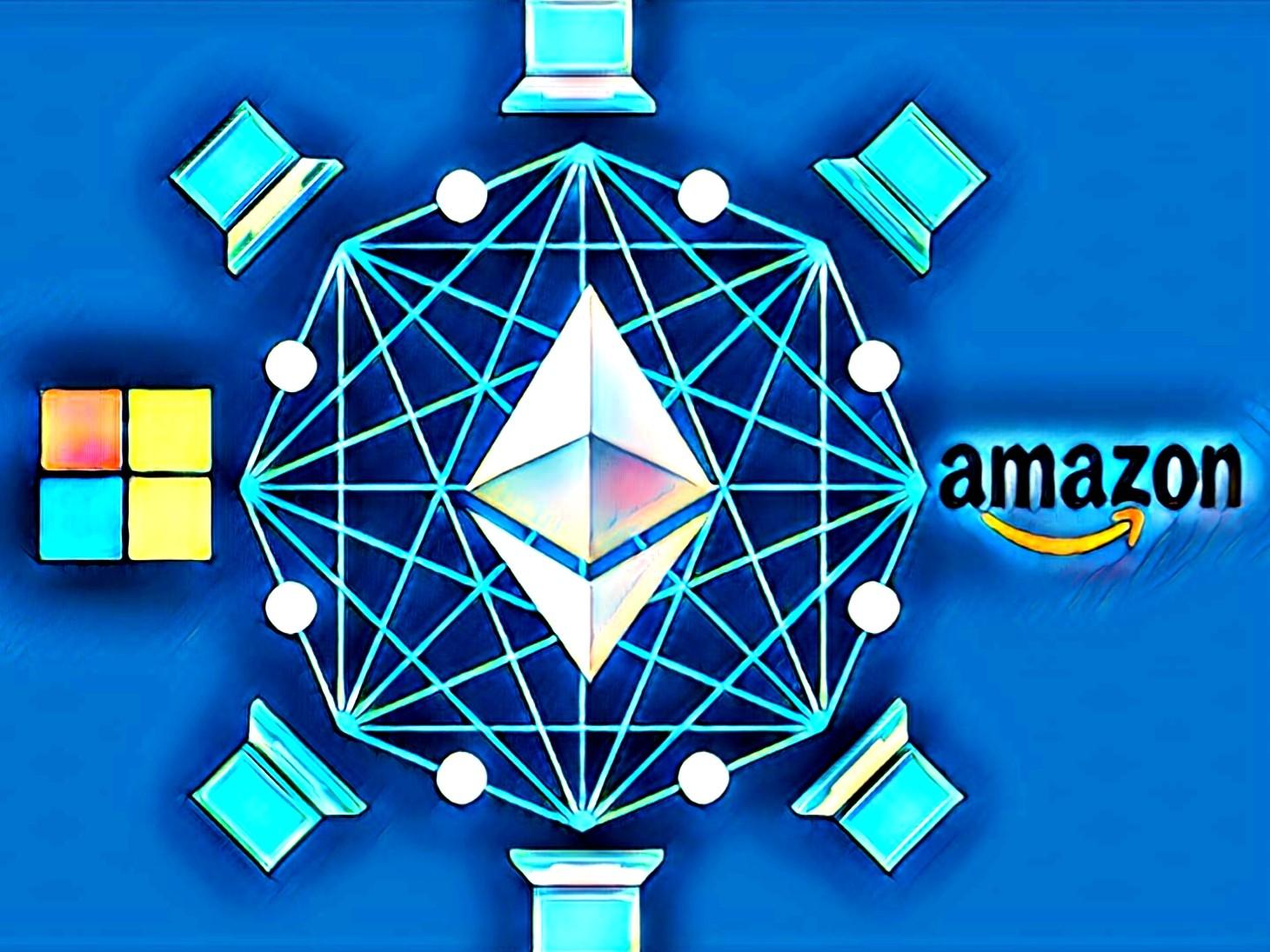 Ethereum Amazon Microsoft