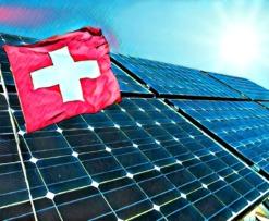 Switzerland St. Gallen Solar Energy