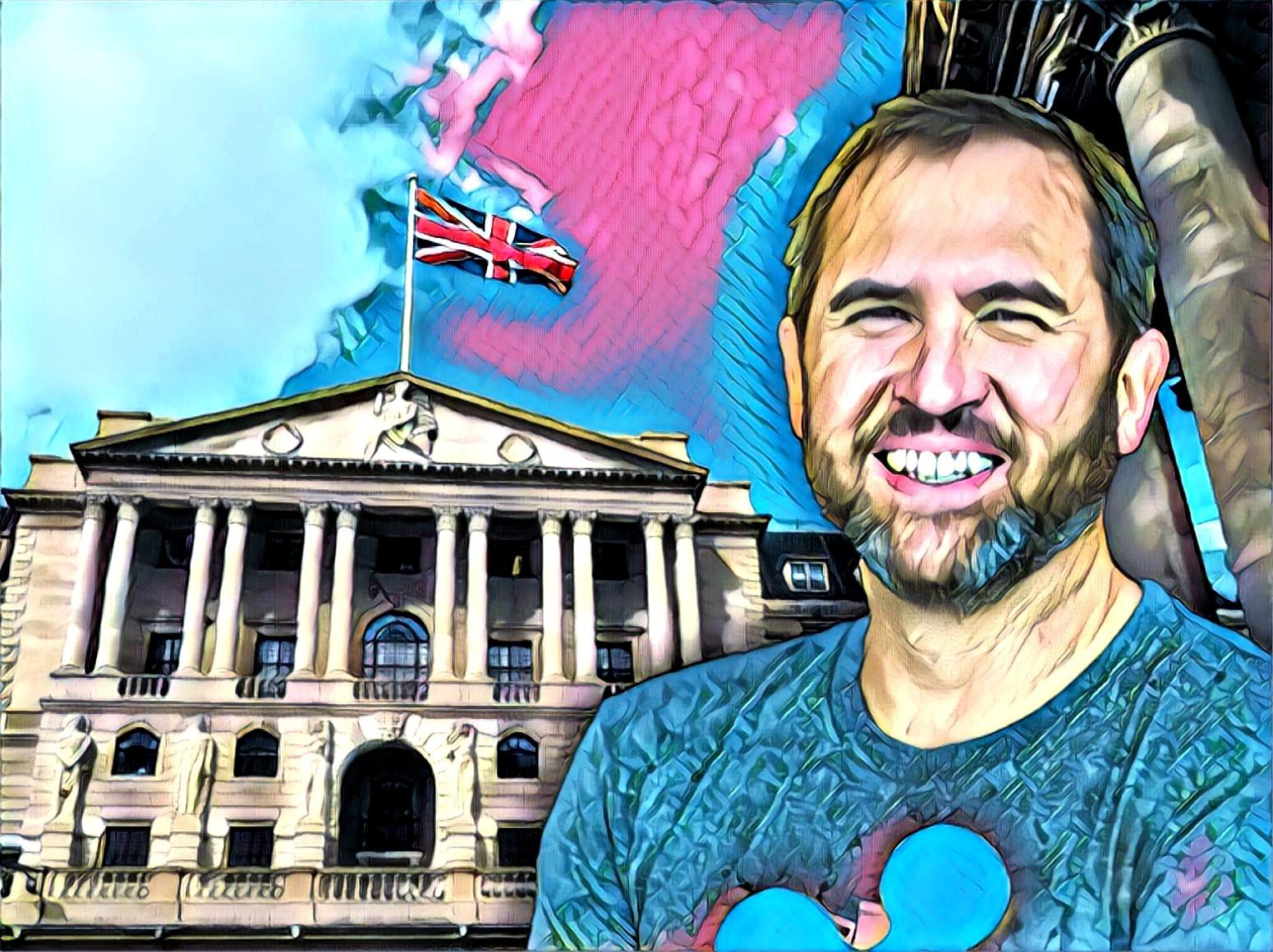 Brad Garlinghouse Ripple Bank Of England