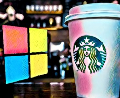 Microsoft Azure Starbucks Bean To Cup