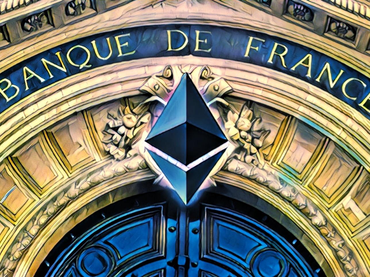 tokenized securities Societe generale ethereum eth