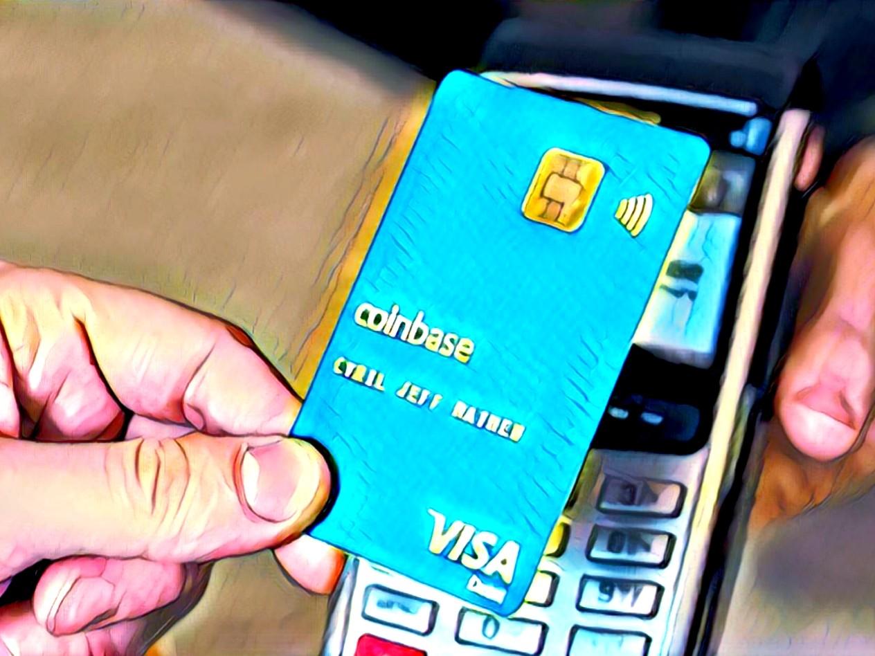 Coinbase Card Visa Debit